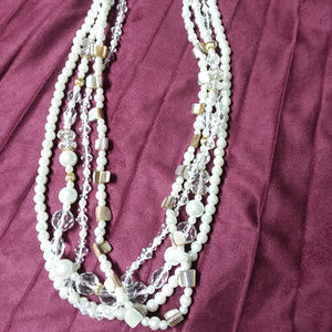 Premier Designs Multilayered Beaded Necklace